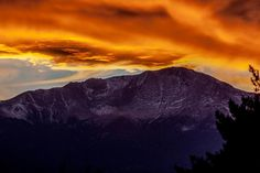 Colorado Rocky Mountain High Sunset