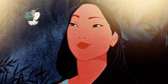 "According to history, Pocahontas was actually a nickname meaning ""the naughty one"" or ""spoiled child."" Her real name was Matoaka."