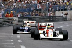 ayrton in Monaco Grand Prix(1992)