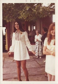 1972 I so remember this fashion .... me too! K