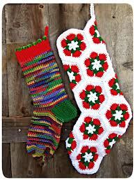 patterns for crocheted christmas stockings - Google Search