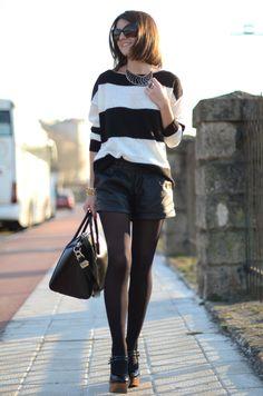 Me encanta el look, sencillo y básico pero muy bien combinado.