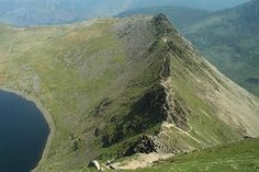 Striding Edge from Helvellyn ..... there's nothing more to say!