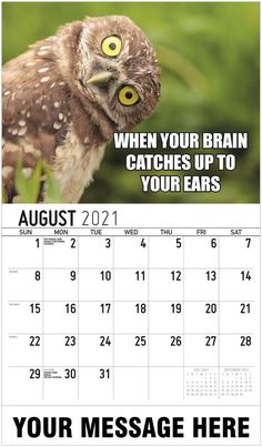 2021 Meme Humor Wall Calendars low as Advertise your Business, Organization or Event all year. Date Squares, Calendar App, Post Ad, Advertise Your Business, Free Advertising, Daily Activities, Your Brain, Digital Marketing, Ears