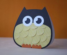Owl card....what a hoot.