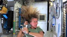 Astronaut Karen Nyberg Demonstrates How to Wash Your Hair in Space