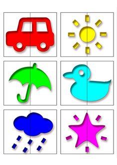 Make Match Game Cards for Kids Preschool Learning Activities, Preschool Worksheets, Infant Activities, Preschool Activities, Activities For Kids, Art For Kids, Crafts For Kids, All About Me Preschool, Flashcards For Kids