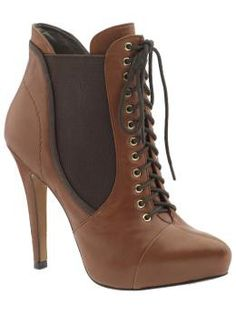 Sam Edelman ~ Rowin -- exactly right for that youture Steampunk outfit... $195