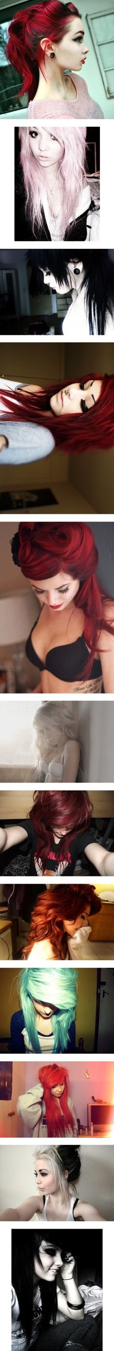 """cute alternative hairstyles"" by alyinwonderland13 ❤ liked on Polyvore"