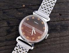 #Vintage #Pobeda #watch soviet watch ussr cccp mens watch