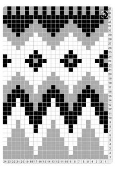 "Strickmuster Fair Isle Norwegermuster Inspiration charts fair isle tapestry crochet Photo from album ""Неразобранное в Колумбийская мочила"" on Yandex. Tapestry Crochet Patterns, Fair Isle Knitting Patterns, Fair Isle Pattern, Bead Loom Patterns, Knitting Charts, Knitting Stitches, Beading Patterns, Broderie Bargello, Fair Isle Chart"