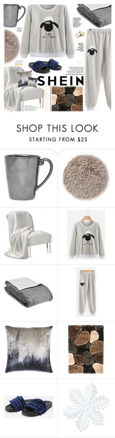 """""""Sheep Embroidered Top And Pants Pajama Set"""" by maria-polyvore ❤ liked on Polyvore featuring Juliska and Katie Loxton"""
