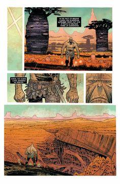 Preview: Rumble #3, Story: John Arcudi Art: James Harren Cover: James Harren