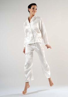 Ashley silk pyjamas by Kumi Kookoon