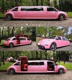 VW Beetle limo <3 <3 <3
