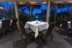 Quality Hotel Ballina, Wild Prawn Café, Bar + Grill, romantic Terrace dining.