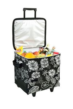 Picnic at Ascot  Night Bloom Wheeled Cooler @Pascale De Groof