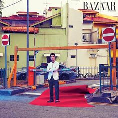 """In this month's issue of BAZAAR Man we're putting the spotlight on the screen kings of Singapore. First up charming leading man @iampierrepng. Of his legacy Png says """"I want people to remember me as a person who never gave up. If theres anything inscribed on my tombstone itll be: Hard work; never disappointed anyone."""" #HarpersBazaarSG #BAZAARScreenKings #AprilBAZAAR (Photographed by @gt_gan. Styled by @windyaulia)  via HARPER'S BAZAAR SINGAPORE MAGAZINE OFFICIAL INSTAGRAM - Fashion Campaigns…"""