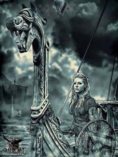 Vikings series, Lagertha