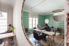 Madrid Coworking space is full of holes!