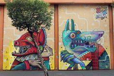 Edgar Flores, a.k.a. SANER   15 Artistas urbanos que hacen de México un lugar más bello