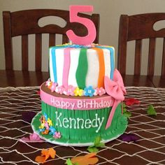 This would go perfect with the luau themed birthday party!