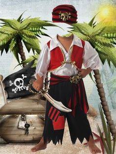 Костюмы детские пиратов для фотошопа