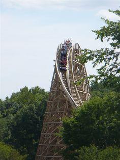 Prowler: Worlds of Fun - Kansas City, Missouri Rolling Coaster, Roller Coasters, Worlds Of Fun, Oceans, Missouri, Kansas City, Photo And Video, Park, Travel