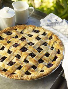 Blueberry-Thyme Pie #myplate #desserts #fruit #summer
