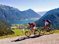 Über Stock und Stein: Die Radwege rund um den Achensee