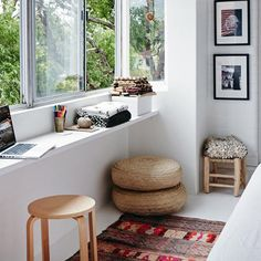 Sydney Home Tour, Cassandra Karinsky. (via The Design Files)