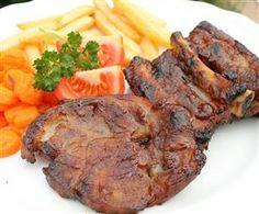 Texasi sertés pác barbecue-hoz vagy sütőben sütéshez Ketchup, Carne, Slow Cooker, Steak, Grilling, Bacon, Bbq, Food And Drink, Pork