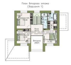 План 3 (прямой) Catalog, Floor Plans, House Design, Architecture, Villa, Home Decor, Houses, House Construction Plan, Homemade Home Decor