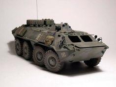 BTR-70, Afghanistan Zvezda 1:35