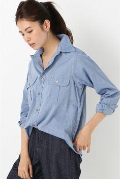 INDIVIDUALIZED SHIRTS レディースレギュラーシャツ