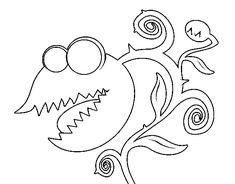 Dibujo de Planta carnívora para Colorear