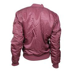 ALPHA Industries MA-1 SF Damen XL Schnitt Wendejacke dusty pink