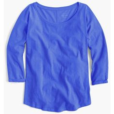 J.Crew Vintage Cotton Dolman T-Shirt ($39) ❤ liked on Polyvore featuring women's fashion, tops, t-shirts, j crew t shirts, cotton tee, dolman top, j crew tee and vintage cotton t shirts