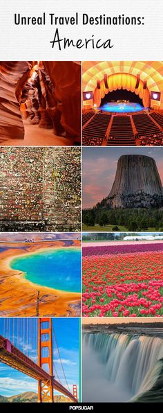 Surreal Travel Spots You Won't Believe Exist in America most of these places are must see! 32 Surreal Travel Spots You Won't Believe Exist in Americamost of these places are must see! 32 Surreal Travel Spots You Won't Believe Exist in America Voyage Usa, Voyage New York, Vacation Destinations, Dream Vacations, Vacation Spots, Vegas Vacation, Summer Vacations, Vacation Planner, Vacation Travel
