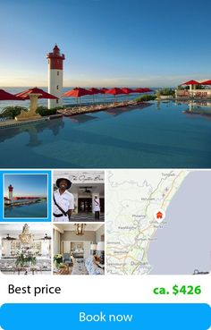 The Oyster Box (Umhlanga Rocks, South Africa) – Book this hotel at the cheapest price on sefibo.