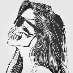 I'm tired #girl #skull #sunglasses #girls #art #artwork #tattoo #piercing #princess #black #ouijaboard #punk #bands #scene #emo #tumblr #punkrock #ahs #fangirl #grunge #music #ouija #scary #makeup #skeleton #pretty #goth #gothic #cute #sceneebenee