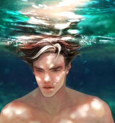 """codeine-j: """" Jason Todd in the water (refer to photo) """""""