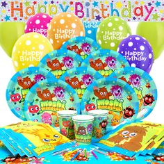 Moshi Monsters Party Moshi Monsters Party Pack - Deluxe SAVE 10%  £18.85 For 16