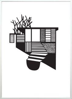 Kristina Dam Studio  Illustration : Tree House
