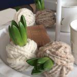 Kei Gemakkelijk | voorjaarsbolletjes van wol …