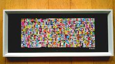 lettremix | Pour un tableau contemporain exclusif et original