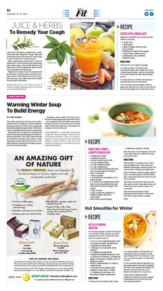 Natural Cough and Sore-Throat Remedies|Epoch Times #Health #newspaper #editorialdesign