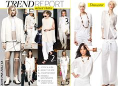 White Hot Summer! @Who What Wear and Doncaster cover the white on white trend.
