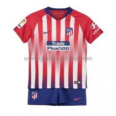 8de32c5bbbf Camisetas De Futbol Niños Atletico Madrid Primera Equipación 2018-19