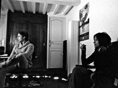 Louve et Raoul Le Pennec - séance d'écoute au Vieux Château. www.louve.com